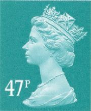 47p Discounted Postage Stamp (mixed designs)